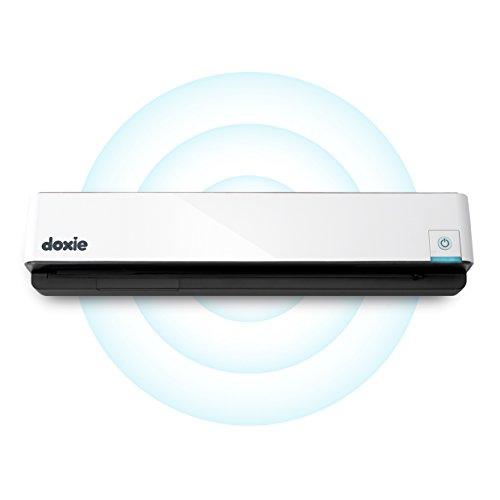 Doxie Go Wi-Fi - Wiederaufladbarer WLAN A4-Dokumentenscanner