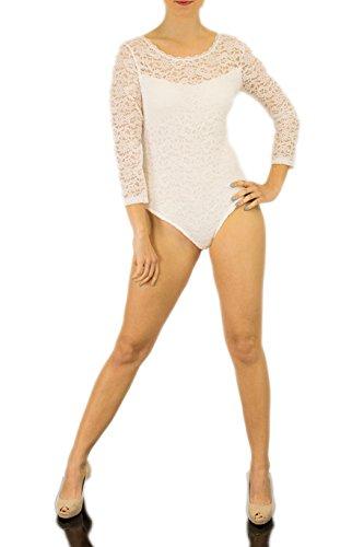 Fashionissta - Body - para mujer Weiss-Kreme