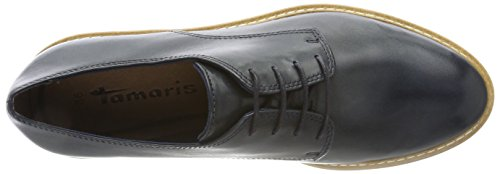 clearance 100% guaranteed Tamaris Women's 23202 Oxfords Blue (Navy Leather) discount free shipping low cost for sale sale latest buy cheap get to buy wrMZC0