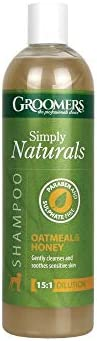 Groomers Simply Naturals Oatmeal and Honey Shampoo 500ml