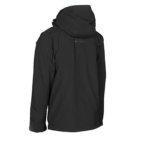 Male Full Zip Hooded Winter Coat Spyder Men/'s Copper Gore-Tex Ski Jacket