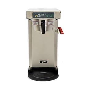 Wilbur Curtis G3 Low Profile Airpot Brewer 2.5L Airpot/Pourpot Single Low Profile Coffee Brewer Stainless Steel Finish – Commercial Airpot Coffee Brewer  – TLP12A19 (Each)