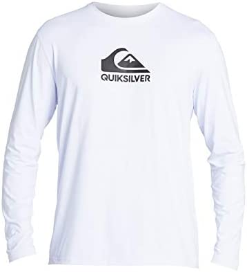Quiksilver Men's Solid Streak Ls Long Sleeve Rashguard Surf Shirt