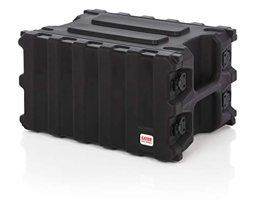 Gator Cases Pro Series Rotationally Molded 6U Rack Case with Shallow 13 Depth; Made in USA (G-PRO-6U-13) [並行輸入品]   B07GTTRTKM