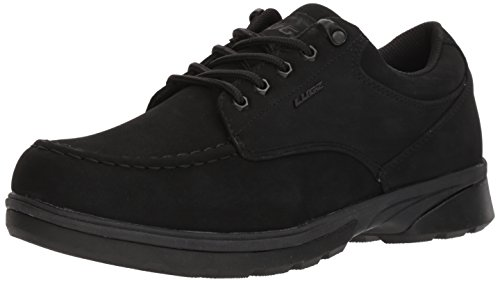 Men's Lugz Black Lo Stack Oxford Boot 677Yqpn