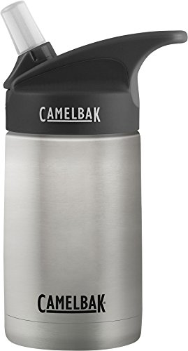 CamelBak Eddy Kids Vacuum Waterbottle, Stainless, 12 oz (Kids Cup 12 Ounce)