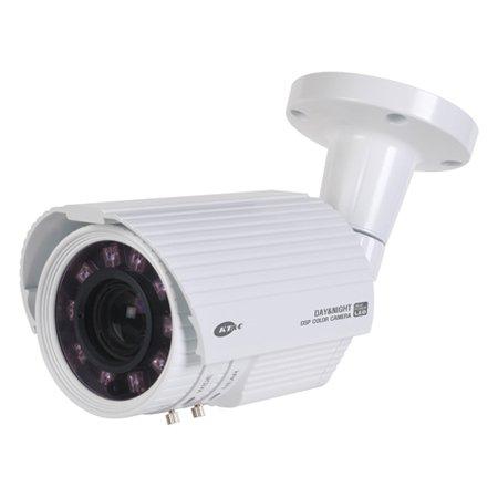 Vari Focal Ir Bullet (KPC-N751NUW KT&C 5~50mm Varifocal 750TVL Outdoor IR Day/Night Bullet Security Camera 12VDC/24VAC - White)