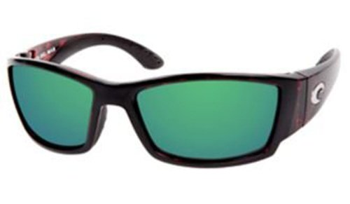 Mirror Wave 580 Glass (Costa Del Mar Sunglasses Corbina Tortoise Polarized Green Mirror Wave 580 Glass)