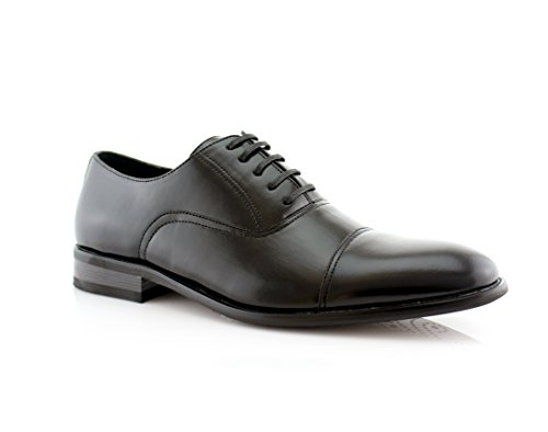 Ferro Aldo Men's Wing Tip Lace Up Leather Lining Oxford Dress Shoes