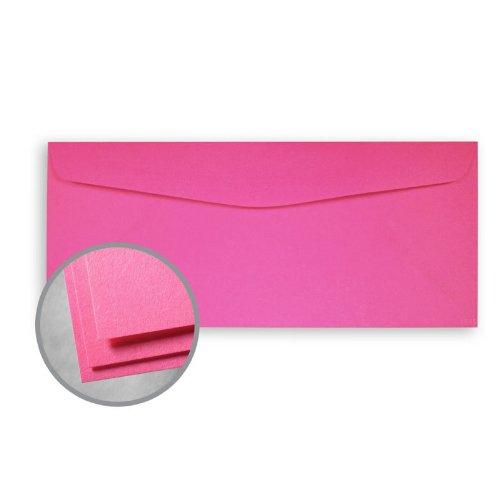 No Commercial 10 Flap - Astrobrights Pulsar Pink Envelopes - No. 10 Commercial (4 1/8 x 9 1/2) 60 lb Text Smooth 500 per Box