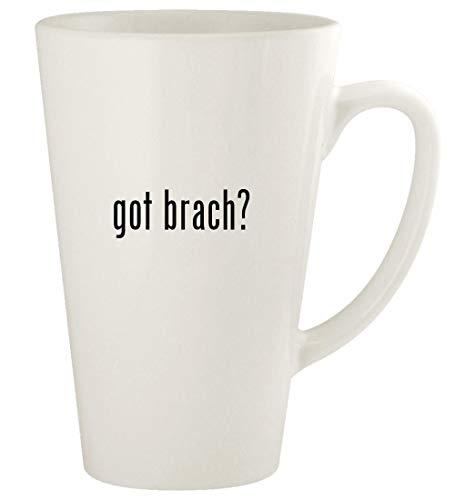 got brach? - 17oz Ceramic Latte Coffee Mug Cup, White