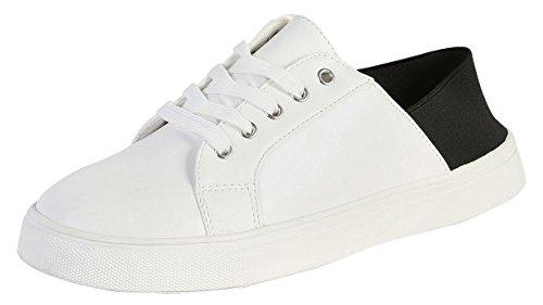 Sneakers Da Donna Di Bambù Louisa-01s Nere