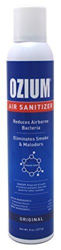 ozium Air Sanitizer Original Scent 8oz by - Mall Peachtree