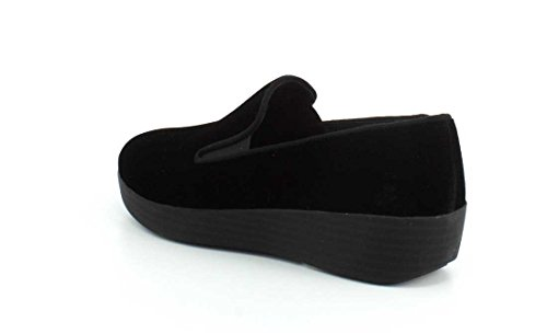 Loafer FitFlop Superskate™ Womens Trade; Black Velvet BSnwYIvR