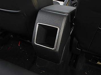 Matte Cornici dei Ventilazione Posteriore Acciaio Inossidabile 1 pezzi per Polo 6 VI MK6 2018 2019 2020