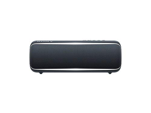 Sony SRS-XB22 Extra Bass Portable Bluetooth Speaker, Black (SRSXB22/B) (Sony Aptx)