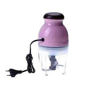 Mini Electric Food Chopper Processor Blender Slicer Juice Maker Kitchen Vegetable Fruit Mixer Meat Grinder Kitchen Accessories : EU
