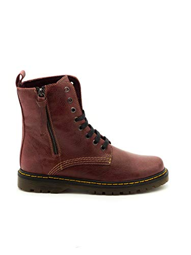 12 Bottines Rouge 450 Cuir D'liro Bordeaux 1HtSrqt0w