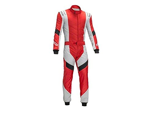 Sparco 00110852RSSI Racing Suit X-Light RS7 52 Red