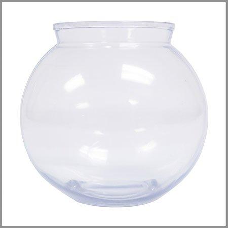 16 Ounce Plastic Fish Bowl (6 Bowls) (Small Bowl Plastic Fish)