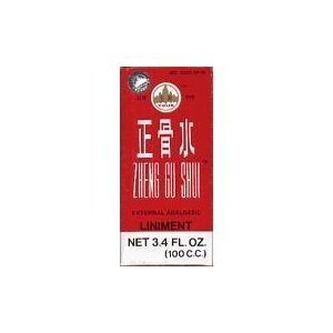 Zheng Gu Shui-Lotion Analgésique externe, 3.4 oz