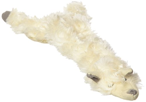 Ethical 5715 Skinneeez Wooly Sheep Stuffing-Less Dog Toy, 13-Inch