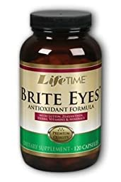 Lifetime Brite Eyes With FloraGlo Lutein -- 120 Capsules