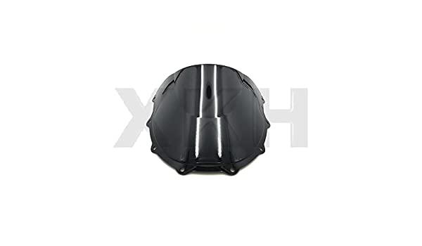 96-2003 Kawasaki Ninja ZX7R ABS Smoke Black Double Bubble Windscreen Windshield