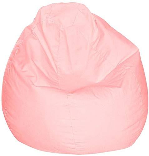 Brilliant Comfy Faux Leather Large Bean Bag Pastel Pink Price In Uae Machost Co Dining Chair Design Ideas Machostcouk