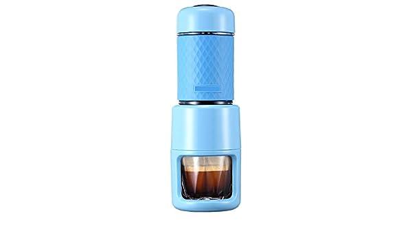 YIZHANGMáquina de café portátil Mini Mano-Prensa máquina de café Express casa de la Oficina: Amazon.es: Hogar