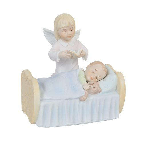 - Pacific Giftware Angel Watching Over Boy Religious Statue Fine, Porcelain Figurine, 5.5