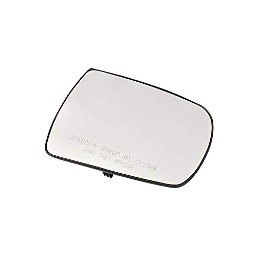 BROCK Passengers Side View Mirror Glass & Base Right Replacement for 11-15 Kia Sorento 876211U000 5421