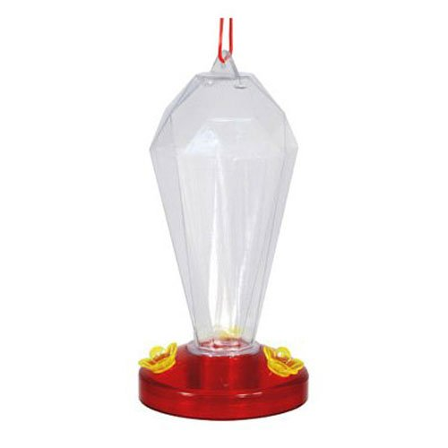 Audubon Kay Home Product's Crystal Tower Plastic Hummingbird Feeder