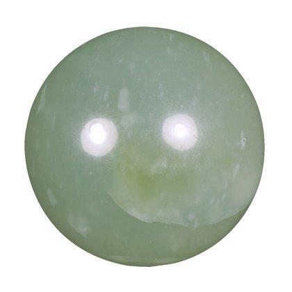 New Jade Medium Crystal Sphere ~4.5cm