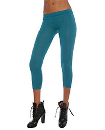 - Alternative Apparel Skinny Leggings (Small, Emerald)
