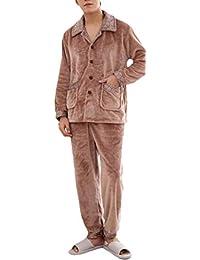 d47d3a913f Plus Size Sleepwear Flannel Thicken Comfy Winter Pajamas Set