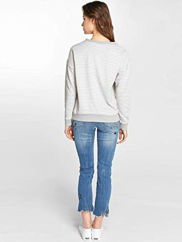 Mujeres Striped Gris Superior Ropa Sublevel Jersey 7xBqqA