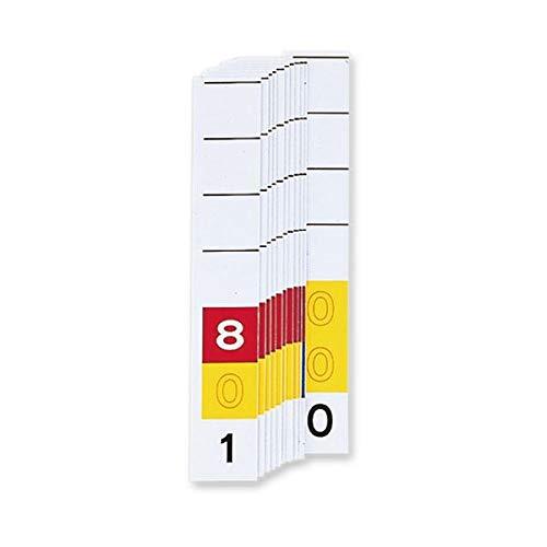 (まとめ) リヒトラブカラーナンバー見出し紙[ミドルデジット3桁] 「801」~「999」 「000」 HK785-81箱(200枚) 【×3セット】 生活用品 インテリア 雑貨 文具 オフィス用品 ファイル バインダー その他のファイル 14067381 [並行輸入品] B07KYRZMTW