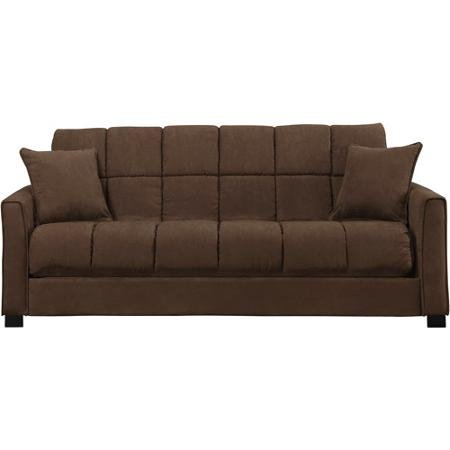 Baja Convert-a-Couch and Sofa Bed, Dark Brown