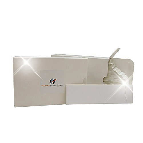 (Money Saver Twin Pack) 1000 Labels Preferred Postage Supplies 6'' x 1 3/4'' Pitney Bowes Postage Tape Compare to Pitney Bowes 625-0 One Label per Sheet with a 3/4'' Peel tab 1000 Count by Preferred Postage Supplies
