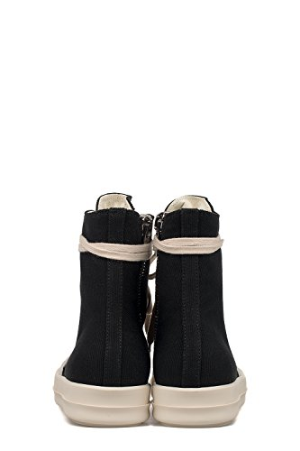 DARK SHADOWS FEMME DS17S5800CVEVP9411 NOIR COTON BASKETS MONTANTES