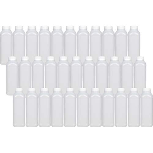 16 Empty Plastic Juice Bottles product image