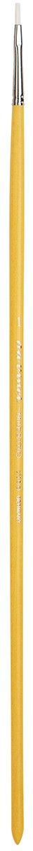 Filbert XL-Length Hand-Interlocked with Natural Polished Handle Size 1 da Vinci Hog Bristle Series 7900 Maestro Artist Paint Brush