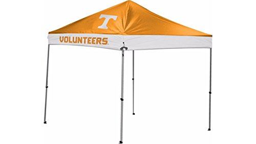 NCAA Instant Pop-Up Canopy Tent with Carrying Case, 9x24 by Coleman
