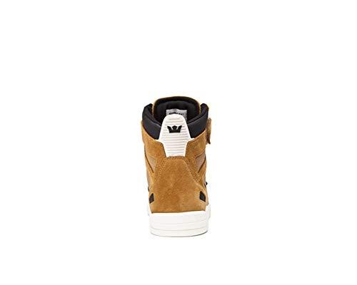 Supra Black Skate Shoe Breaker Bone Tan ISrI1Bq