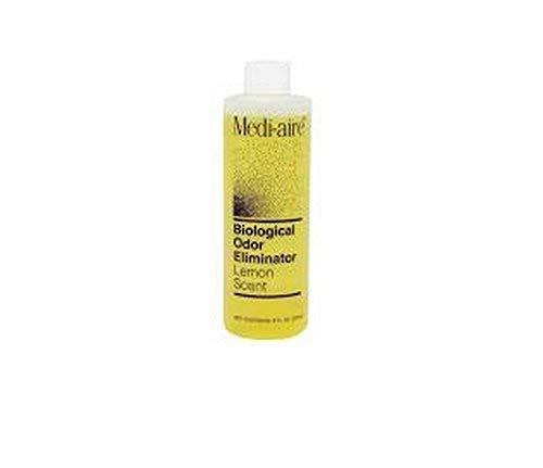 Medi-Aire Biological Odor Eliminator Refill 8 oz. Bottle, Lemon Scented - 1 Each / Each