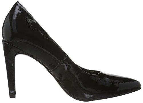 Marco Tozzi 22423, Zapatos de Tacón para Mujer Negro (BLACK PATENT 018)