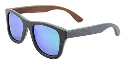 SHINU Handmade Wood Glasses Anti-Glare Polarized Wooden Sunglasses- Z68003 4 NATURAL WOOD-Genuine Wood Bamboo from Sustainable Resources. POLARIZED LENSES-Polarized UV400 Lenses Against Harmful UVA/UVB Rays. HIGH END HANDICRAFTS-Each Frame is Polished and Coated with A Water/Sweat Protective Layer.
