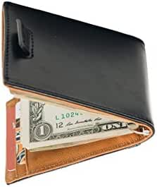 Stealth Mode Slim Wallet for Men with Money Clip and RFID Blocking Security