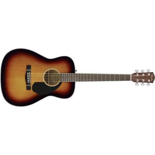 Fender CC-60s Right Handed Handed Acoustic Guitar – Concert Body Style – Sunburst